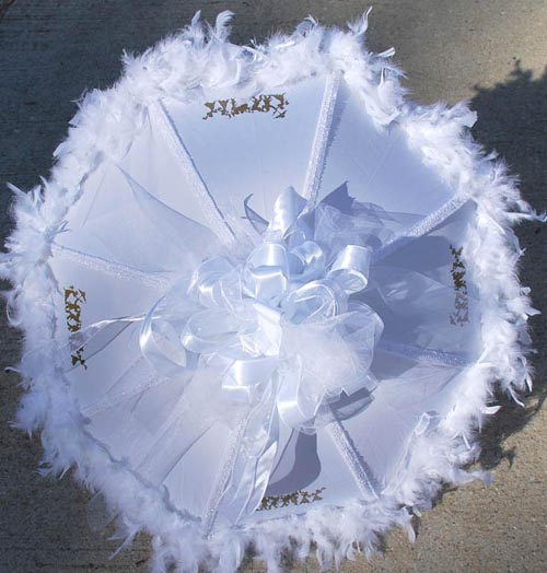 PANTONE WEDDING Umbrellas: The Dessy Group